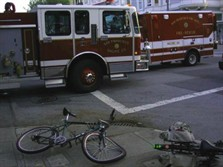 bike crash sffd